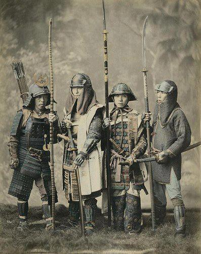 samurai traditional weapons