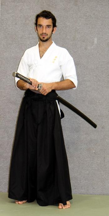 mistrz iaido battodo spochan