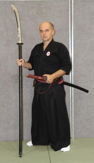 samuraj nauka szermierki samurajskiej sensei Piotrkowicz