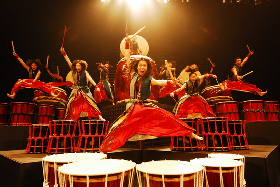 bębny Japonia