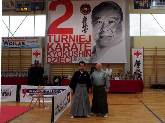 karate dzieci kyokushin pokaz budo