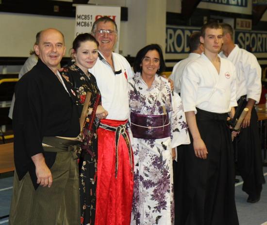 szkoła samurajów kimono hakama
