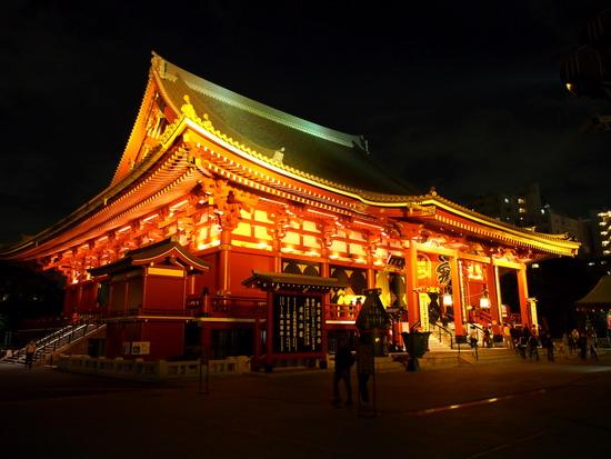 asakusa świątynia japonia