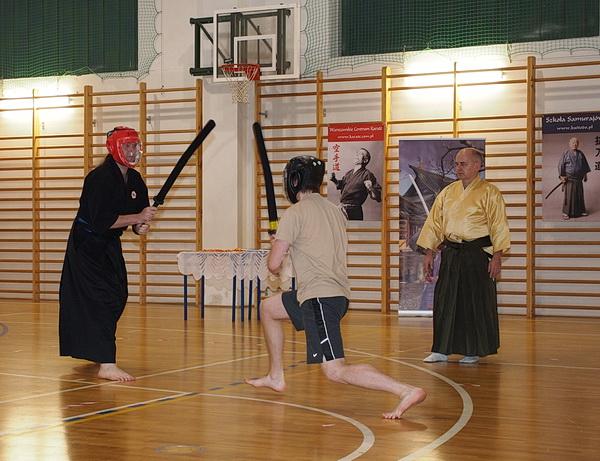 turniej budo warszawa walka mieczem