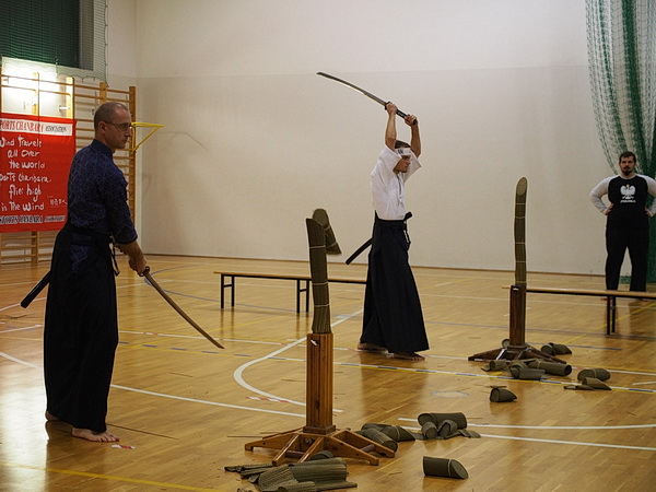 zawody kenjutsu kobudo battodo tameshigiri