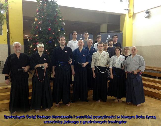 nowy rok szkoła samurajów