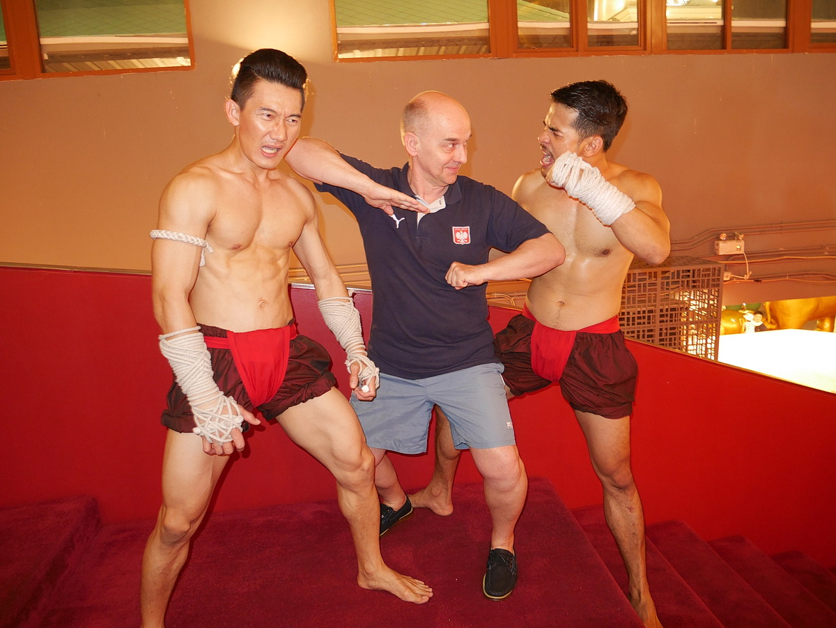 thai boxing show  nauka warszawa